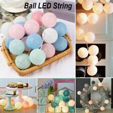 LED Ball String Fairy Light Garland Lights Christmas Lantern Wedding Decoration