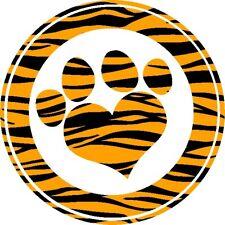 30 Custom Tiger Paw Print Art Personalized Address Labels