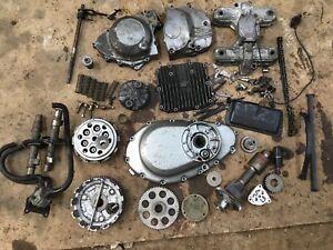 Suzuki GS500 GS 500E Engine Parts Clutch Cams Covers Etc ( Job Lot)