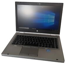 "HP EliteBook 8470p 14"" Notebook Intel Core i5 3320m 4gb di RAM 320gb HDD WIN 10"