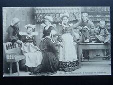 More details for france traditional craft the dressmaker the fitting l'essayage c1908 postcard