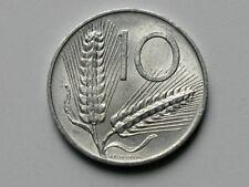 Italy 1955R 10 LIRE Aluminum Coin Romagnoli 1955-R L.10