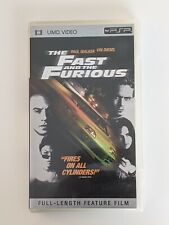 The Fast and the Furious (UMD, 2005) for PSP