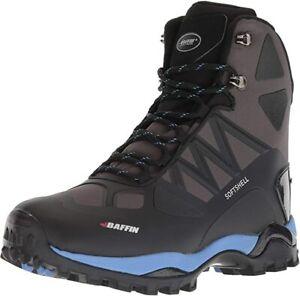 Baffin Women's Charge Snow Boots, Bau - Black/Blue, Size 6 US/36 EU/4 UK