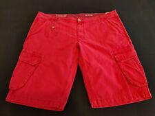 Malboro Classics MCS, Shorts, Gr. US 42, Rot, Leinen + BW, UVP = 95,- Euro, NEU!