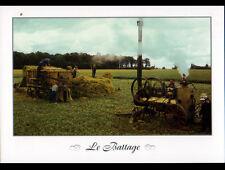 MARCHAIS-BETON (89) AGRICULTURE / MOISSONNEUSE BATTEUSE / BATTAGE