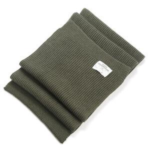 OKONKWO Vintage U.S.N Fleece Scarf US Street Muffler Lovers Wool Scarf Muffler