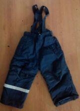 H&M Jungen Ski Hose Gr 92 Schneeanzug Winterhose Latzhose Schneehose Skilatzhose
