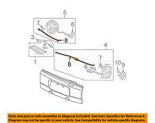 HONDA OEM 03-11 Element Tail Gate Tailgate Hatch-Lock Rod Right 72111SCVA01