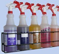 Wall Rack - hold 5pcs Quart Spray Bottles, Model#: QSR-5