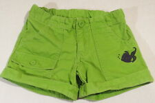 Crazy 8 Navy Blue Fish & Bubbles Apple Green Cuffed Shorts, 6