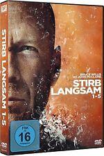 STIRB LANGSAM 1-5 (Bruce Willis) 5 DVDs NEU+OVP