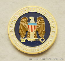 New US National Security Agency NSA Challenge Coin  CIA NCIS FBI SPY