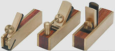 3pc Micro Brass Block Plane, Bullnose & Scraper 4 Wood Working Craft Planar Tool