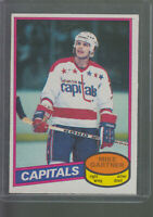1980-81 OPC O-PEE-CHEE #195 MIKE GARTNER RC ROOKIE CARD CAPITALS BK$20.00