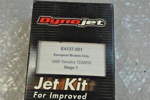 YAMAHA TDM 1999 DYNOJET VERSION STAGE 1.CODICE E4137.001