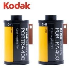 2 Rolls x Kodak PORTRA 400 ISO 35mm 135 36exp 135-36 Color Negative Film