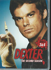 DEXTER The Second Season - Discs 3&4 (DVD 2008) - 2 DVD