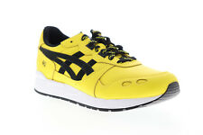 Asics Gel Lyte 1191A036-762 Mens Yellow Leather Lace Up Low Top Sneakers Shoes