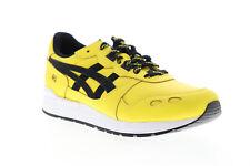 Asics Gel Lyte 1191A036-762 мужская желтая кожа на шнуровке низкие кроссовки обувь