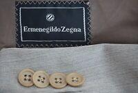 Ermenegildo Zegna Silk Blend Light Brown Herringbone Sport Coat Jacket Sz 44L
