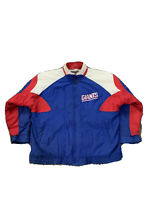 Apex One NY Giants Full Zip Insulated Jacket Vintage 90s NFL