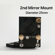 """CO2 Laser Mirror Mount Second Reflection Fixture 25mm / 0.98"""" for Laser Machine"""