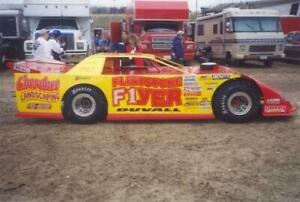 Plastic Performance Products F1 Flintstone Flyer Mike Duvall Dirt Track decal
