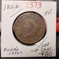 1826 Coronet Head Large Cent 7373