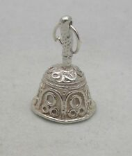 Argento Sterling Charm Hand Bell