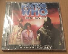 Doctor Who - Red Dawn Audio Book 2x Cd Peter Davison STILL SEALED