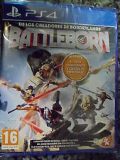 Battleborn Nuevo PS4 Pack Primogénito cartas en castellano In English.