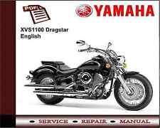 Yamaha Dragstar XVS1100 XVS 1100 Workshop Service Repair Manual