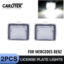2pcs Error Free LED License Plate Light For Mercedes-Benz C Class W204 C207 W221