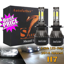 4-Side CREE LED H7 Driving Headlights for Mercedes-Benz C300 B200 C230 C250 C240