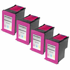 4Pk For HP CC644WN Color Printer Ink Cartridge for HP 60XL Color F4210 F4213