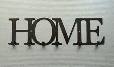 Key Holder HOME wall hooks key hanger black metal modern