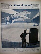 AVIATION AEROPORT LE BOURGET FIUME TRAITE MUSSOLINI LE PETIT JOURNAL 1924