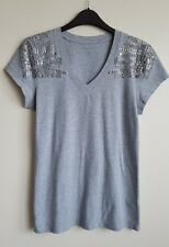 KENNETH COLE WOMEN'S GREY TSHIRT TOP SIZE M UK 12 ?