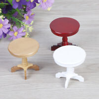 1:12 Dollhouse round coffee dining table furniture dollhouse miniaturDD