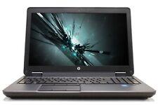 """HP ZBook 15 15.6"""" Intel i7 8GB RAM 256GB SSD NVIDIA Quadro K1100M Win 10 Laptop"""