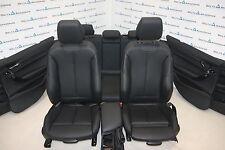 BMW F20 Leather Seats Sport Sitze Sportsitze Lederausstattung Sensatec Schwarz