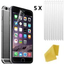 5 X Apple iPhone 8 en plastique transparent Screen Guard LCD Film Protecteur 3 Couches