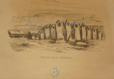 STORIA: John LUBBOCK, TEMPI PREISTORICI E ORIGINE INCIVILIMENTO 1875 UTET tavole