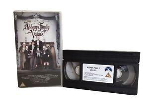 Addams Family Values (VHS/SUR, 2000) Vintage Rare Retro Classic