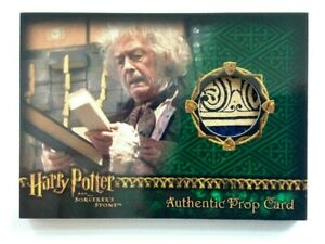 Harry Potter Sorcerer's Stone PROP CARD WAND BOX RARE DESIGN PATCH VARIANT /842