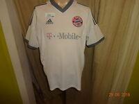 "FC Bayern München Adidas Auswärts Trikot 2002-2004 ""-T---Mobile-"" Gr.S- M"