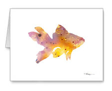 Goldfish Note Cards With Envelopes
