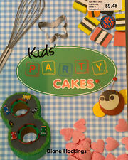 Kids Party Cakes Cookbook Diane Hockings Children's Birthday Favors NEW Baker