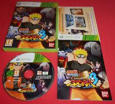 XBOX 360 Naruto Shippuden Ultimate Ninja Storm 3 [PAL (Fr)] Console *JRF*